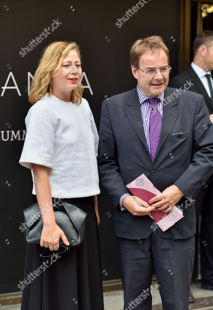 Sarah Mower and Quentin Letts