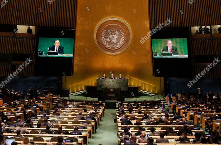 Editorial image of United Nations Refugee Summit, New York, USA - 19 Sep 2016