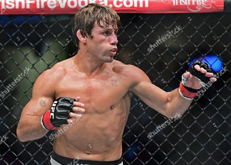 Urijah Faber Urijah Faber in action against Jimmy Rivera during a bantamweight bout at UFC 203, in Cleveland. Jimmy Rivera won via decision