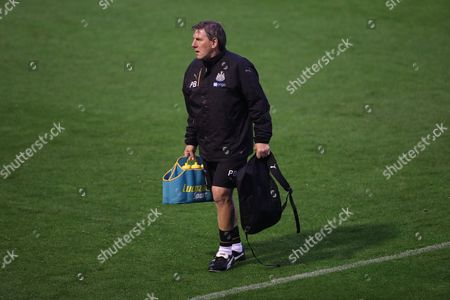 Stock Picture of Newcastle United U23 manager Peter Beardsley before the U23 Premier League match between U23 Brighton and Hove Albion and U23 Newcastle United at the Checkatrade.com Stadium, Crawley