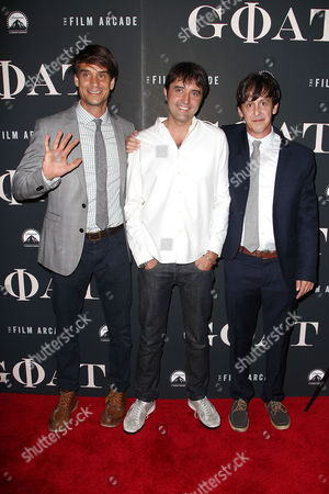 Stock Picture of Brett Land, Andrew Neel (Director) and Brad Land