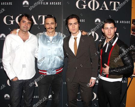 Andrew Neel (Director), James Franco, Ben Schnetzer and Nick Jonas