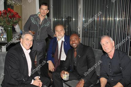 Roger Birnbaum, Ethan Hawke, Vincent D'Onofrio, Antoine Fuqua (Director), Richard Wenk (Writer)