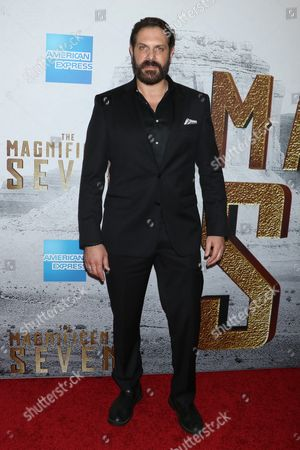 Editorial photo of 'The Magnificent Seven' film screening, New York, USA - 19 Sep 2016
