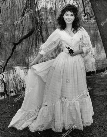 Actress Sabina Franklyn Daughter Of Actor William Franklyn Wearing A Wedding Dress. Box 707 303081674 A.jpg.
