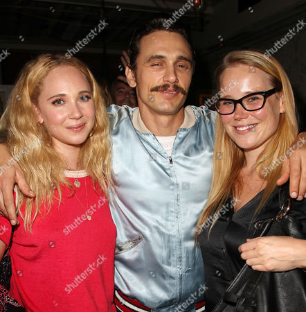 Juno Temple, James Franco and Pamela Romanowsky