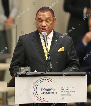 Perry Christie Perry Christie, prime minister of the Bahamas, speaks during the Summit for Refugees and Migrants at U.N. headquarters