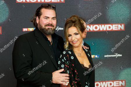 Stock Photo of Philip Schulz-Deyle and wife