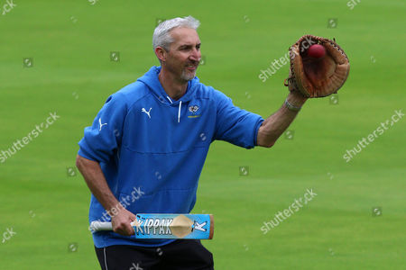 Yorkshire head coach Jason Gillespie during Middlesex CCC vs Yorkshire CCC, Specsavers County Championship Division 1 Cricket at Lord's Cricket Ground on 20th September 2016