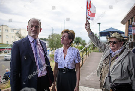 UKIP party leader Diane James and UKIP MP Douglas Carswell arrive at Day 2 of the 2016 UKIP Autumn Conference
