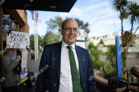 Mark Reckless arrives at Day 2 of the 2016 UKIP Autumn Conference