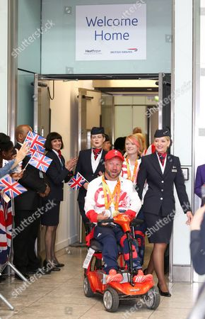 Editorial picture of Paralympians return home from Rio 2016 Paralympic Games, London, UK - 20 Sep 2016