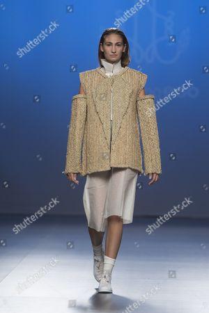 Editorial image of Ferrandiz show, Spring Summer 2017, Madrid Fashion Week, Spain - 20 Sep 2016