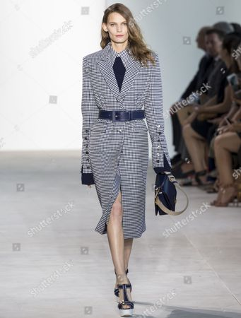 Stock Image of Lena Hardt on the catwalk