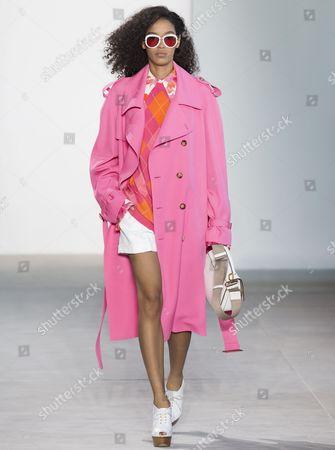 Stock Image of Luisana Gonzalez on the catwalk