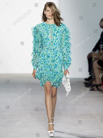 Stock Picture of Sophie Rask on the catwalk