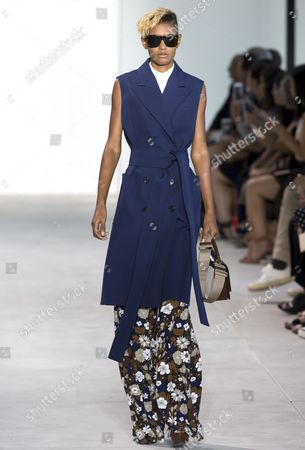 Editorial image of Michael Kors show, Runway, Spring Summer 2017, New York Fashion Week, USA - 14 Sep 2016