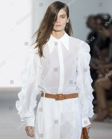 Editorial photo of Michael Kors show, Runway, Spring Summer 2017, New York Fashion Week, USA - 14 Sep 2016