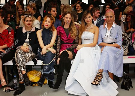 Guests, Alicia Rountree, Doina Ciobanu and Amber Le Bon