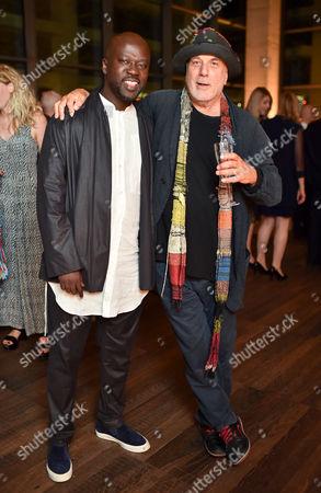 David Adjaye and Ron Arad