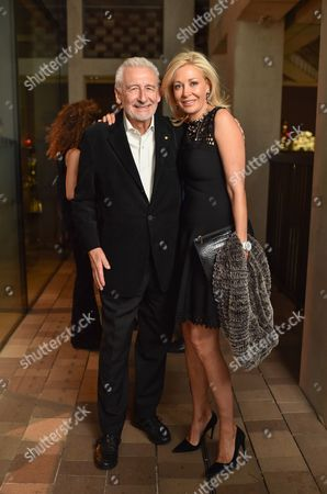 Sir John Sorrell and Nadja Swarovski