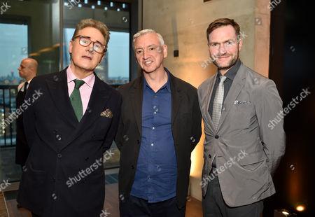 Peter York, Martin Raymond and Chris Sanderson