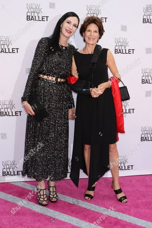 Stock Picture of Jill Kargman and mother Coco Kopelman