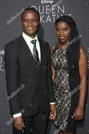 Robert Katende and Phiona Mutesi