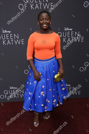 Editorial photo of 'Queen of Katwe' film premiere, Los Angeles, USA - 20 Sep 2016