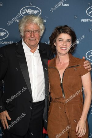 Jean-Jacques Annaud and Irene Jacob