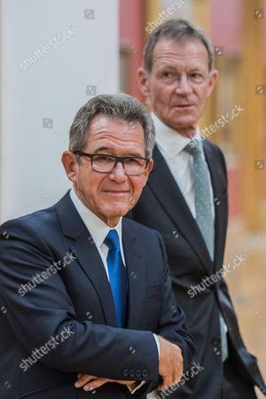 Lord John Browne, Tate's Chairman and Sir Nicholas Serota, Director, Tate.