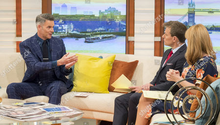 Stock Picture of Christian Howes with Ben Shephard and Kate Garraway