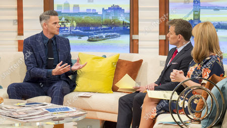 Christian Howes with Ben Shephard and Kate Garraway