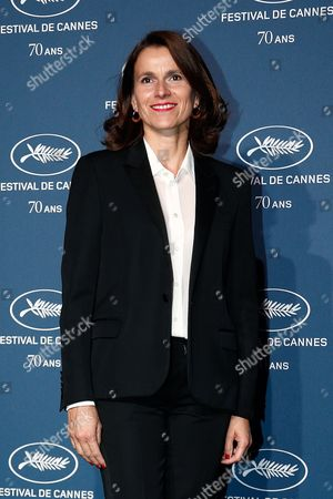 Former French Minister of Culture, Aurelie Filippetti