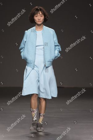 Editorial photo of Xebi Fernandez show, Spring Summer 2017, Mercedes Benz Fashion Week, Madrid, Spain - 20 Sep 2016