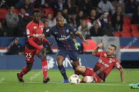 Editorial photo of Paris Saint-Germain v Dijon, Ligue 1 football match, Paris, France - 20 Sep 2016