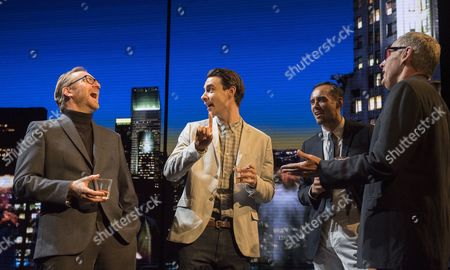 Simon Wilson, Harry Lloyd as Jack, Steve John Shepherd as Charlie, Michael Simkins as Stuart