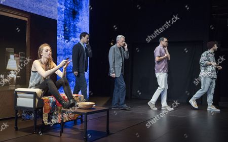 Freya Mavor as Annie, Harry Lloyd as Jack, Michael Simkins as Stuart, Steve John Shepherd as Charlie, Ilan Goodman as Jeff
