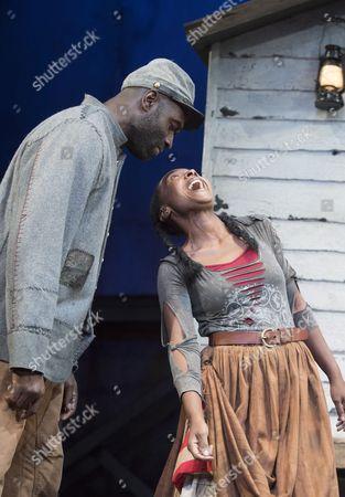 Steve Toussaint as Hero Nadine Marshall as Penny,