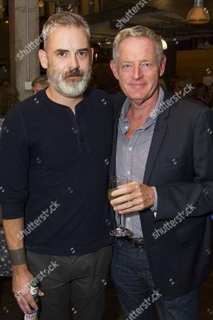 Zach Helm (Author) and Michael Simkins (Stuart)
