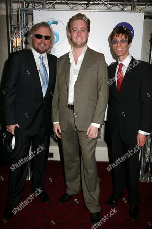Bee Gees with Dean Piper of Closer Magazine