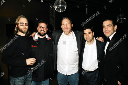 Scott Mosier, Kevin Smith, Harvey Weinstein and guests
