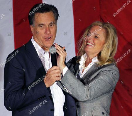 Editorial picture of Campaign Profiles Ann Romney, Zanesville, USA