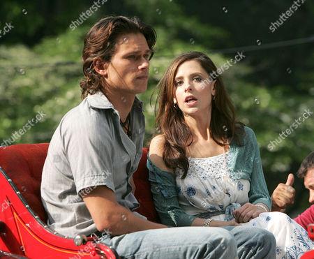 Stock Image of Jay Rodan and Sarah Michelle Gellar