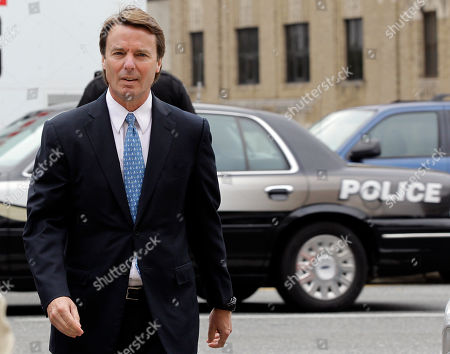John Edwards Former presidential candidate and Sen. John Edwards arrives at a federal courthouse in Greensboro, N.C., . Edwards is accused of conspiring to secretly obtain more than $900,000 from two wealthy supporters to hide his extramarital affair with Rielle Hunter and her pregnancy. He has pleaded not guilty to six charges related to violations of campaign-finance laws