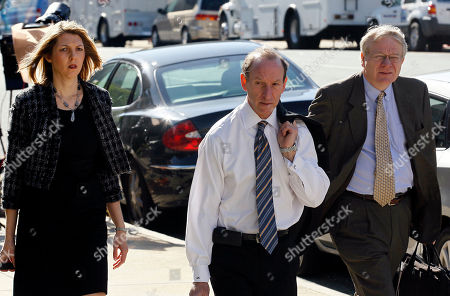 Allison Van Laningham, Abbe Lowell, Alan Duncan Allison Van Laningham, left, Abbe Lowell, center, and Alan Duncan, attorneys for former presidential candidate and Sen. John Edwards, arrive at a federal courthouse inin Greensboro, N.C., . Edwards is accused of conspiring to secretly obtain more than $900,000 from two wealthy supporters to hide his extramarital affair with Rielle Hunter and her pregnancy. He has pleaded not guilty to six charges related to violations of campaign-finance laws
