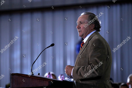 Michael Reagan Michael Reagan, son of former President Ronald Reagan, introduces Republican presidential candidate, former House Speaker Newt Gingrich during campaign stop, in Pensacola, Fla