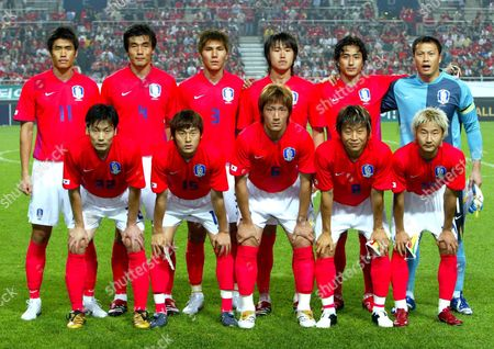 Editorial picture of SOUTH KOREA VS SENEGAL FOOTBALL MATCH, SEOUL, SOUTH KOREA - 24 MAY 2006