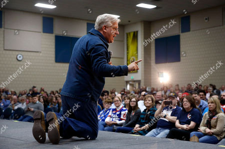 Glenn Beck Radio and television personality Glenn Beck speaks before introducing Republican presidential candidate, Sen. Ted Cruz, R-Texas, at a campaign event at Western Iowa Tech Community College in Sioux City, Iowa