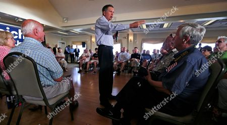 John Kasich Republican presidential candidate Ohio Gov. John Kasich addresses a gathering at a town hall style meeting during a campaign stop in Greenland, N.H